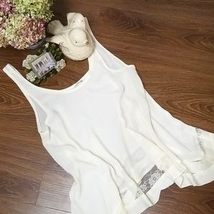 NWOT Free People Intimately Flowy Top, Size XS